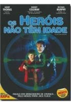 Dvd os Heróis Não Tem Idade - Cloak And Dagger