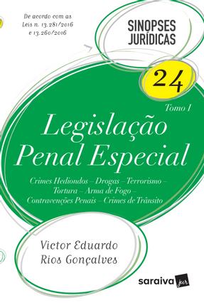 Legislação Penal Especial - Col. Sinopses Jurídicas 24 - 13ª Ed. 2017 - Goncalves, Victor Eduardo Rios | Hoshan.org