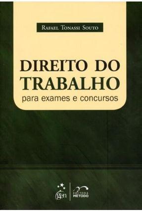Direito do Trabalho Para Exames e Concursos - SOUTO,Rafael Tonassi   Tagrny.org