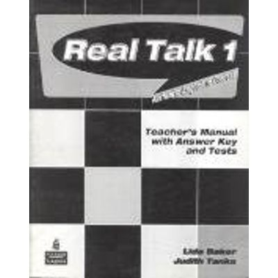 Real Talk 1 Teacher´S Manual With Answer Key And Tests