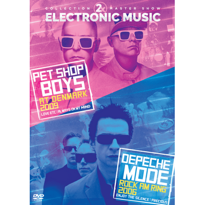 Pet Shop Boys & Depeche Mode - Electronic Music - DVD