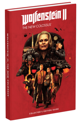 Wolfenstein II - The New Colossus - Prima Collector's Edition Guide - Games,Prima   Hoshan.org