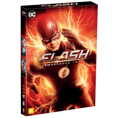 DVD The Flash - 1ª e 2ª  Temporada - 11 Discos