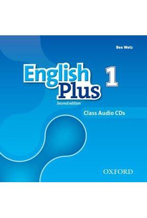 English Plus - Level 1 - Class Cd - Level 3 - 2ª Edition - Ben Wetz Diana Pye | Hoshan.org