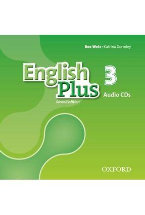 English Plus - Level 3 - Class Cd  -  Level 4 - 2ª Edition - Ben Wetz Diana Pye | Nisrs.org