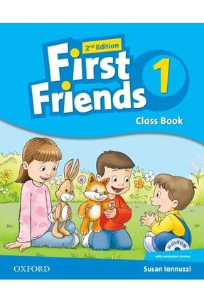 First Friends - Level 1 - Class Book & Multirom Pk - 2ª Edition - Susan Iannuzi | Nisrs.org