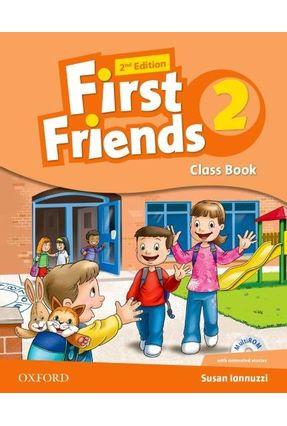 First Friends - Level 2 - Class Book & Multirom Pk - 2ª Edition - Susan Iannuzi | Nisrs.org