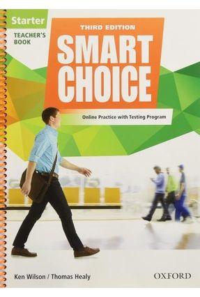 Smart Choice Starter - Teacher's Book Pk - 3ª Edition - Wilson,Ken Thomas Healy | Hoshan.org