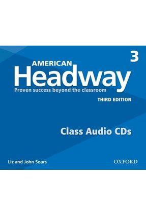 Am Headway - Level 3 - Class Cd - Level 3 - 3ª Edition - John Soars Liz Soars   Nisrs.org