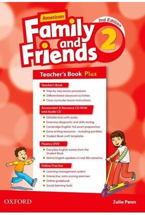 Am Family And Friends - Level 2 - Teachers Pk - 2ª Edition - Naomi Simmons Tamzin Thompson Jenny Quintana | Tagrny.org