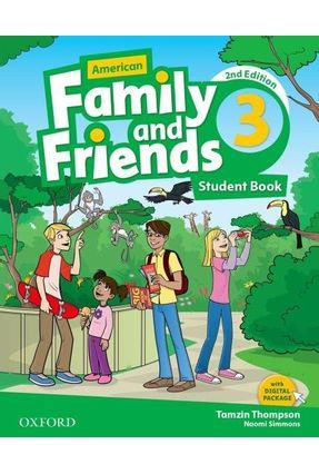 Am Family And Friends - Level 3 - Student's Book - 2ª Edition - Naomi Simmons Tamzin Thompson Jenny Quintana | Hoshan.org