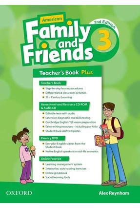 Am Family And Friends - Level 3 - Teachers Pk - 2ª Edition - Naomi Simmons Tamzin Thompson Jenny Quintana | Nisrs.org