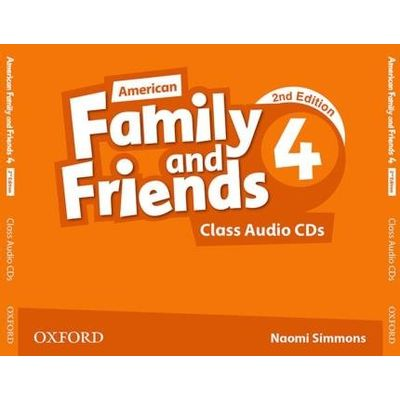 Am Family And Friends - Level 4 - Class Cd - Level 3 - 2ª Edition