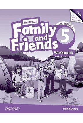 Am Family And Friends - Level 5 - Workbook W Online Practice - 2ª Edition - Naomi Simmons Tamzin Thompson Jenny Quintana   Hoshan.org