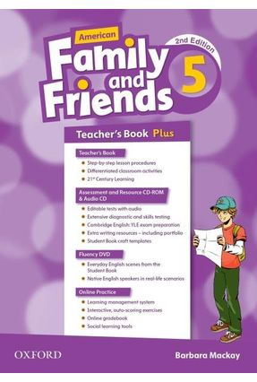 Am Family And Friends - Level 5 - Teachers Pk - 2ª Edition - Naomi Simmons Tamzin Thompson Jenny Quintana | Nisrs.org