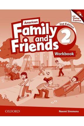 Am Family And Friends - Level 2 - Workbook W Online Practice - 2ª Edition - Naomi Simmons Tamzin Thompson Jenny Quintana   Hoshan.org