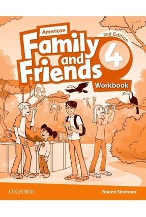 Am Family And Friends - Level 4 - Workbook - 2ª Edition - Naomi Simmons Tamzin Thompson Jenny Quintana | Tagrny.org