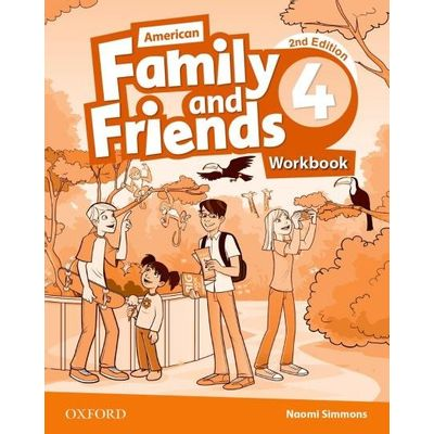 Am Family And Friends - Level 4 - Workbook - 2ª Edition