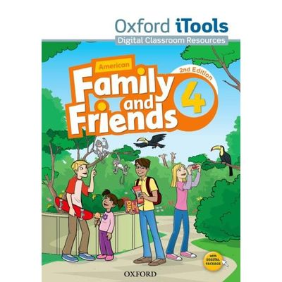 Am Family And Friends - Level 4 - Itools - 2ª Edition