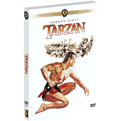 DVD Tarzan - The Gordon Scott Collection - 6 Discos