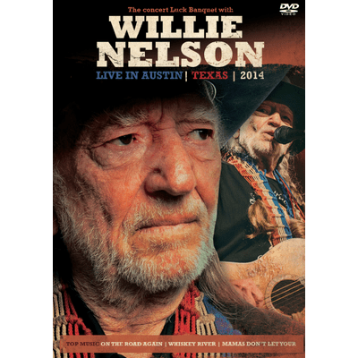 Willie Nelson - Live In Austin, Texas 2014 - DVD