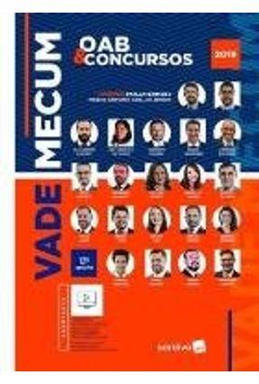 Vade Mecum Saraiva - Oab E Concursos 2019 - 12ª Ed.