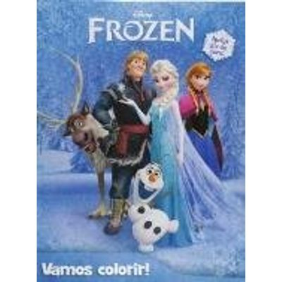Disney Frozen - Vamos Colorir!