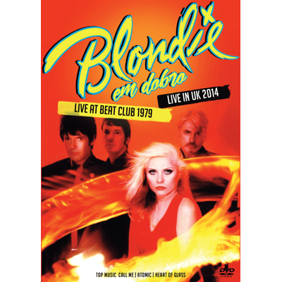 Blondie Em Dobro - Live At Beat Club 1979 + Live In Uk 2014 - DVD