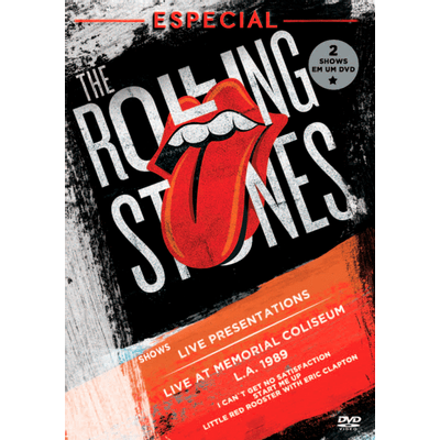 The Rolling Stones Especial - Live Presentations + Live At Memorial Coliseum L.A. 1989 - DVD