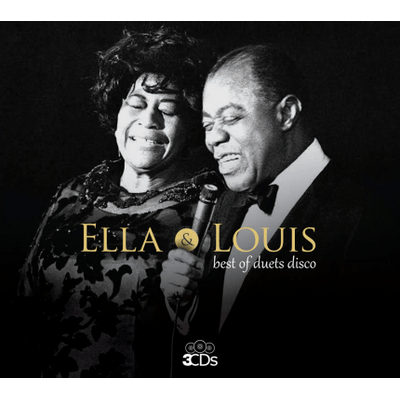 Ella Fitzgerald & Louis Armstrong - Best Of Duets Disco - Box Com 3 CDs - Digipack