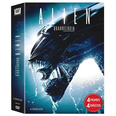 Alien - Quadrilogia - 4 DVDs