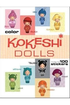 Kokeshi Dolls Coloring Book - Secheret,Jessica | Hoshan.org