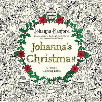 Johanna's Christmas - A Festive Coloring Book For Adults