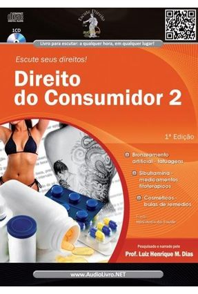 Direito do Consumidor 2 - Col. Escute Seus Direitos - Audiolivro - Henrique Medeiros Dias,Luiz pdf epub