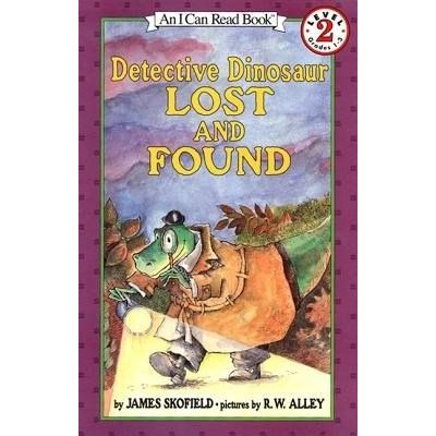 Detective Dinosaur Lost And Found - I Can Read Books - Level 2