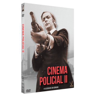 DVD Box Cinema Policial Vol. 2 - Digistack - 2 Discos