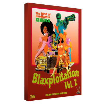 DVD Box Blaxploitation Vol. 2 - Digistack - 2 Discos