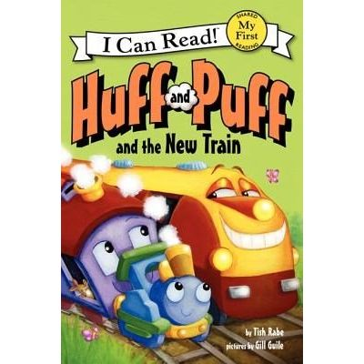 I Can Read!: My First Shared Reading - Huff And Puff And The New Train