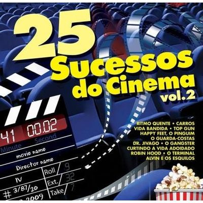 25 Sucessos do Cinema - Vol. 2
