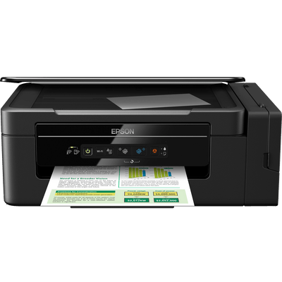 Multifuncional Epson Ecotank L396 - Imprime, Copia e Digitaliza / Wi-Fi Direct