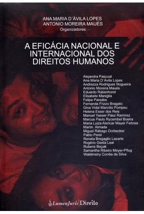 A Eficácia Nacional e Internacional Dos Direitos Humanos - Lopes,Ana Maria D' Ávila | Hoshan.org