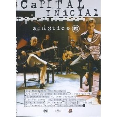 Acústico Mtv - Capital Inicial Dvd0