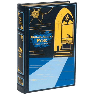 Edgar Allan Poe's Collected Works Leather-Bound