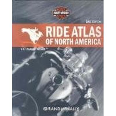 Ride Atlas Of North America: U. S. / Canada / Mexico - 2Nd Ed