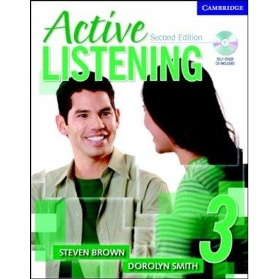 Active Listening 3 - Student's Book - With Self-Study Audio CD - 2ª Ed.