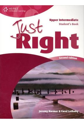 Just Right Upper Intermediate - Student's Book - Harmer,Jeremy   Tagrny.org