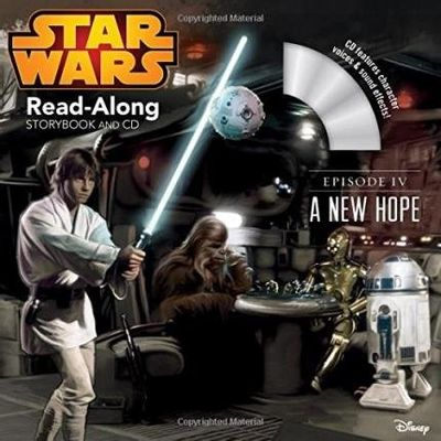 Star Wars Episode IV - A New Hope Read-Along Storybook And CD
