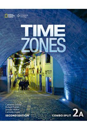 Time Zones 2A - Combo Split - Second Edition - Nicholas Beare Tim Collins Ian Purdon   Hoshan.org