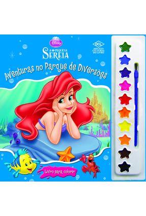 Aquarela Disney - A Pequena Sereia - Aventuras No Parque de Diversões - Dcl,Editora   Hoshan.org