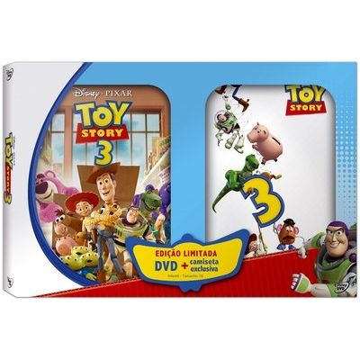 Toy Story 3 + Camiseta - DVD4